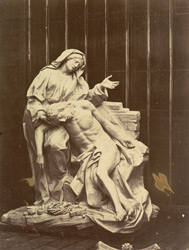 The Pieta Of The Corsini Chapel In San Giovanni Laterano, Rome, By Bernini